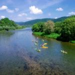 Spływ kajakowy rzeką San